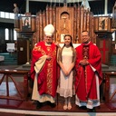 2019 Confirmation (Diana) at the Shrine of Our Lady of the North American Martyrs at Auriesville.